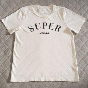 "Sol Angeles ""SUPER woman""💃 tee - NWT"
